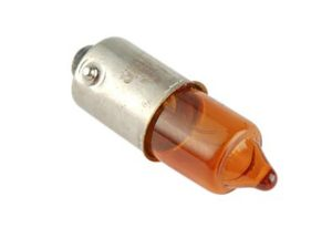 AMPOULE MINI CLIGNOTANT ORANGE 12V/10W