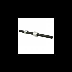 AXE DE ROUE CYCLO 12x100x182mm ADAPTABLE PEUGEOT 103 ROUE A BATONS ARRIERE (COMPLET)