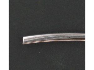Jonc plastique chromé hauteur 7.7mm ( 1 mètre )