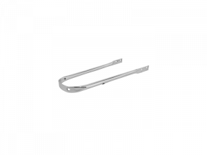 PONT/TRINGLE DE GARDE BOUE CYCLO ADAPTABLE MBK 88, 881 AVANT CHROME